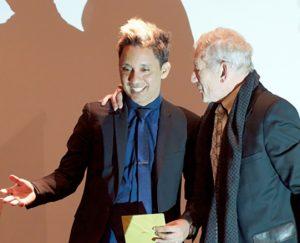 Sir Ian McKellen honours Belizean LGBT activist who battled to overturn anti-gay law