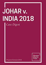 Navtej Singh Johar & Ors. V. Union of India, (2018) – Case Digest
