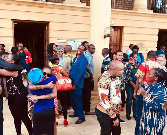 """Now they know we are here. We're not going away."" Disappointment and defiance from LGBT Kenyans as court postpones decision"