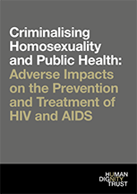 Criminalising Homosexuality and Public Health