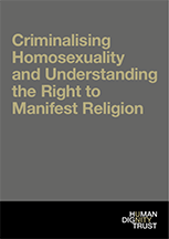 Criminalising Homosexuality and Understanding the Right to Manifest Religion