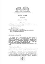 H.Ç. v. Turkey, Application no. 6428/12