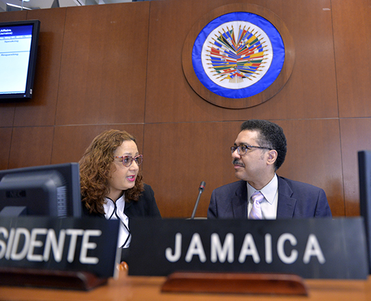 Jamaica: Petition before the Inter-American Commission on Human Rights