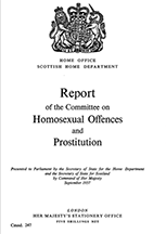 Wolfenden Report, 'Report of the Departmental Committee on Homosexual Offences and Prostitution in Great Britain'
