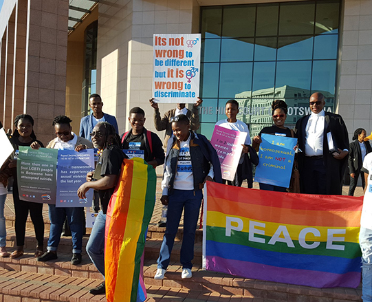 High Court strikes down discriminatory laws in huge win for human rights of LGBT people in Botswana and beyond
