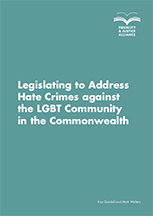 Legislating to Address Hate Crimes against the LGBT Community in the Commonwealth