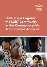 Hate Crimes against the LGBT Community in the Commonwealth: A Situational Analysis
