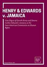 Henry & Edwards v. Jamaica – Case Digest