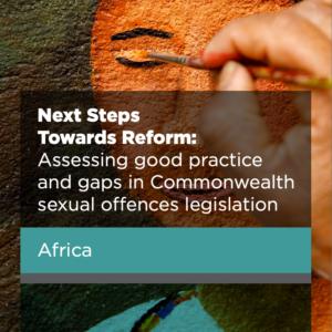 NEXT STEPS TOWARDS REFORM: Africa