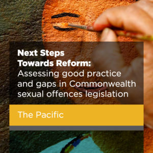 NEXT STEPS TOWARDS REFORM: THE PACIFIC